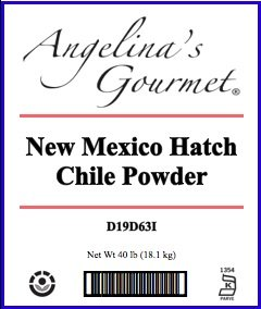 New Mexico / Anaheim Chile Powder - 40 Lb Bag / Box Each by Woodland Ingredients