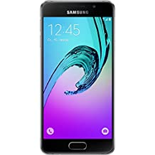 Samsung Galaxy A3 (2016) 16GB SM-A310F Factory Unlocked 4G/LTE Single-SIM Smartphone - International Version with No Warranty (Black)