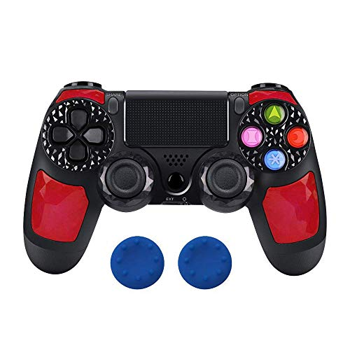 - PS4 Controller Wireless Gamepad Double Shock 4 Joystick for Sony Playstation 4 / PS4 Pro / PS4 Slim with 3.5mm Headset Plug