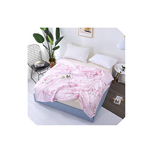 New Stripe Printed Bedspread Summer Quilt Blanket Comforter Bed Cover Quilting Home Textiles Suitable for Children Adult,King,2