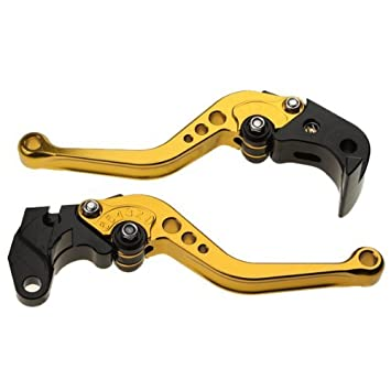 Autek - Freno Palanca De Embrague Suzuki GSXR 600 750 Gsx Golden motor-103: Amazon.es: Coche y moto