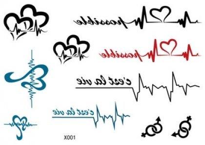 Venta Caliente Más Reciente Diseño Tatuajes Temporales Diferentes