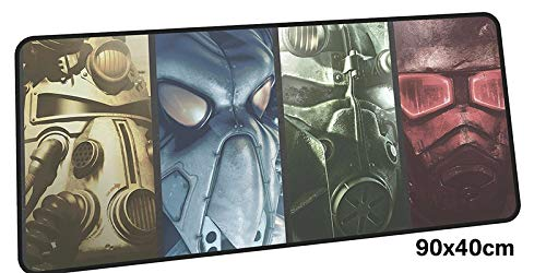 HTACSA Fallout Mouse Pad Gamer 900X400Mm Notbook Mouse Mat Large Gaming Mousepad Large Pad Mouse Pc Desk Padmouse