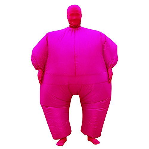 Full Body Fat Suit Costume (Sheface Inflatable Full Body Suit Costume (One Size, Rose Red))