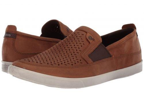 ECCO(エコー) メンズ 男性用 シューズ 靴 スニーカー 運動靴 Collin Perf Slip-On - Amber [並行輸入品] B07BLRLJVV