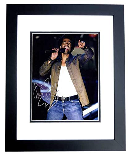 Eric Benet Signed - Autographed R&B Soul Singer 11x14 inch Photo BLACK CUSTOM FRAME - Guaranteed to pass PSA or JSA from Real Deal Memorabilia