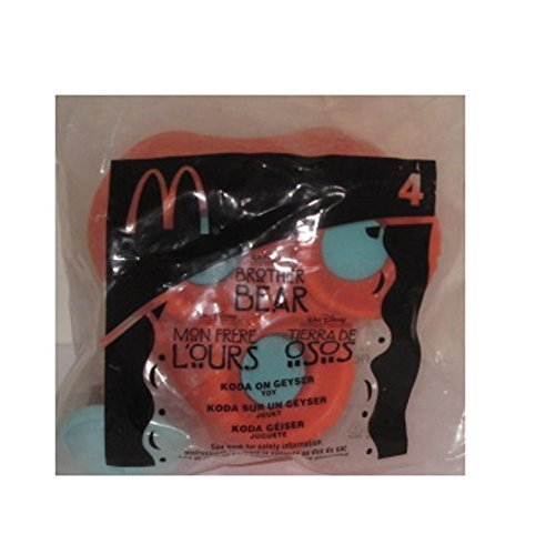 Happy Meal Collectibles (Collectible Mcdonalds Happy Meal 2003 Brother Bear Koda on Geyser #4 New Toy)