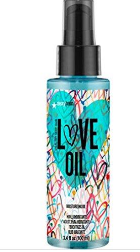 Sexy Hair HSH Love Oil Hair And Body Moisturizing Oil, 3.4 Fluid Ounce