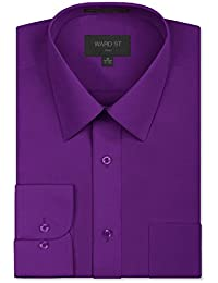 Men's Regular Fit Dress Shirts