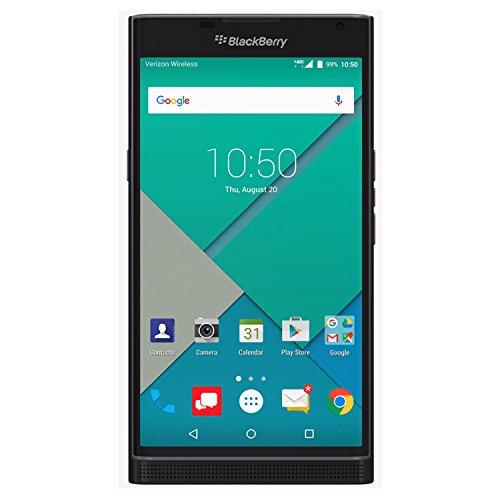 BlackBerry PRIV STV100-3 32GB Unlocked GSM 4G LTE Hexa-Core Phone w/ 18MP Camera - Black (Renewed)