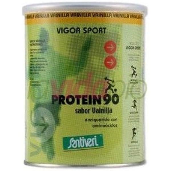 Proteínas 90 (Vainilla) 200 gr de Santiveri: Amazon.es: Salud ...