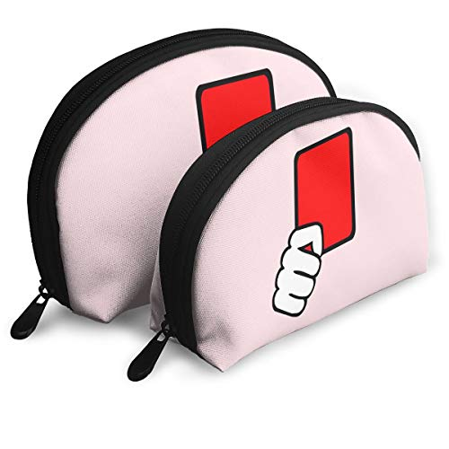 Child Goods Red Card Referee Multi-Functional Portable Bags Clutch Pouch