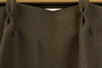 ブリーズ 1級遮光防炎遮熱カーテン 1枚入 巾200cmX丈185cm ブラウン B00B16Z3GS 200X185|ブラウン ブラウン 200X185
