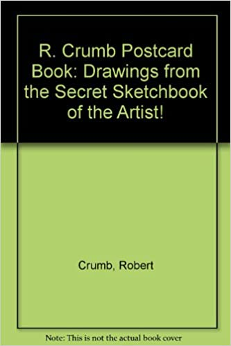 Book R. Crumb Postcard Book: Drawings from the Secret Sketchbook of the Artist!