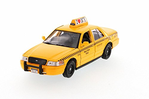 Ford Taxi Cab - NYC New York City Taxi Cab Ford Crown Victoria 1:24 Scale I Love New York