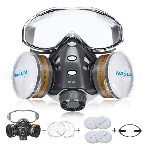 Reusable Half Face Cover, NASUM 8200 Face