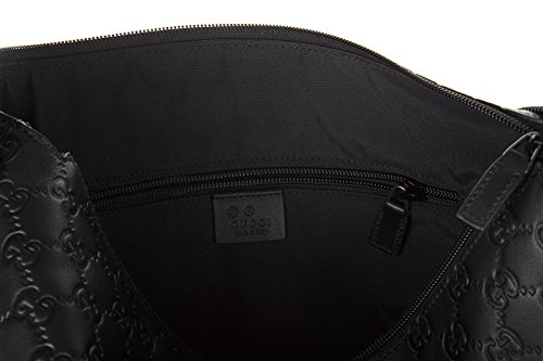 Gucci borsa uomo a tracolla borsello in pelle nero moda for Portafoglio gucci uomo nero