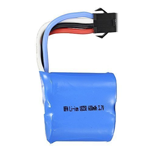 USA Toyz Replacement Battery for UDI R/C UDI001 Venom Speed Boat 3.7V 600mAh Li-ion (Geniune UDI)
