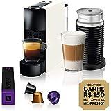 Máquina de Café Combo Essenza Mini C30 com Aeroccino 110V, Nespresso A3NC30-BR-WH-NE, Branca