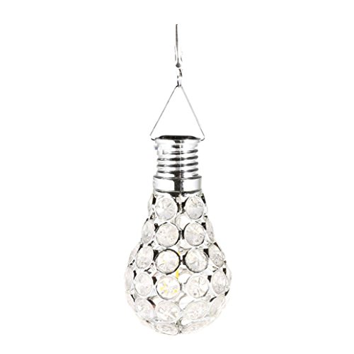 LiPing Gypsophila LED Waterproof Solar Rotatable Outdoor Garden Camping Hanging String Light Warm White- Soothing DécorationElegant Rope Light Suitable for Christmas, Weddings. (A) from LiPing