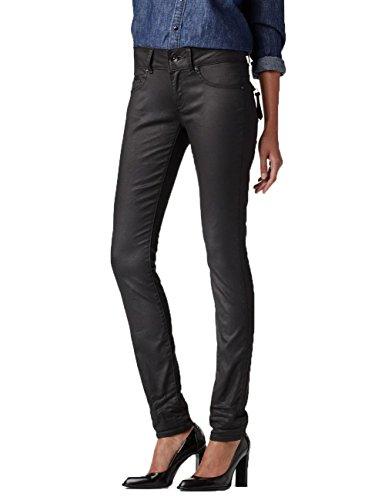 G-Star Damen Jeans Midge Cody Mid Waist Skinny Fit - Schwarz - Rinsed, Größe:W 34 L 36;Farbe:Rinsed (082)