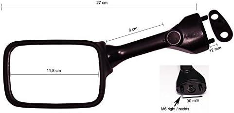 2x Rearview Mirror Emgo 20-29605