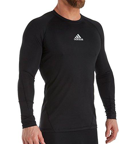 adidas Alphaskin Long Sleeve Compression T-Shirt (841T) M/Black
