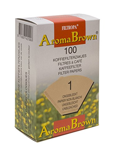 Filtropa AromaBrown Unbleached Disposable Pour Over