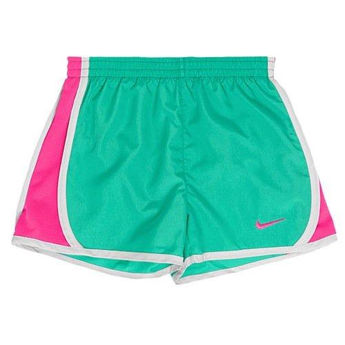 Nike Little Girls Tempo Shorts (2T, Menta)