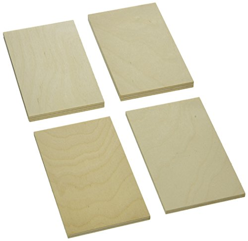Sax 407054 Project Wood Thin Plywood in Economy Bag, 1/8 Board Foot, Assorted Sizes
