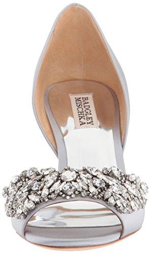 Sølv Hardfør Kile Badgley Mischka Kvinners Sandal 0wP4fX