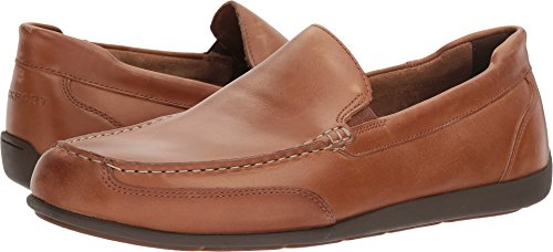 Rockport Men's Bennett Lane 4 Venetian Shoe, New Caramel, 10 W (Rockport Driving Shoes)