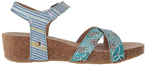 Step Sandals by Women's Spring L'Artiste Multi Blue Vella aBgwEWTq