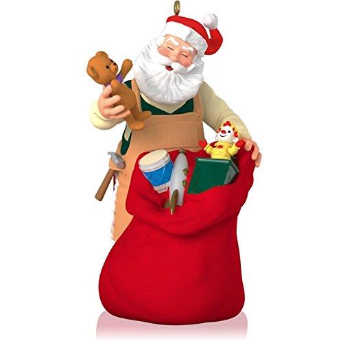Hallmark 2014- Limited Edition - 15th Anniversary - Toymaker Santa Ornament