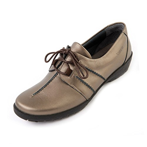 Suave Deep Lightweight Wide Antique ee Practical E Fit With Toe Padded Collars Gold Box Women's 'joan' Support Shoe FqHFAr