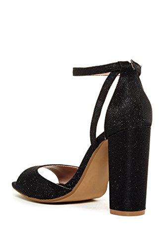 Sandalo Con Tacco Maculato Di Betsey Johnson Da Donna, Nero