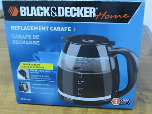 Black and Decker GC2000B Black Replacement Carafe