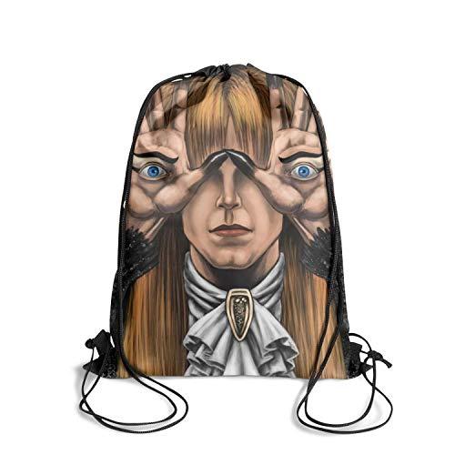 K7Top Unisex Sack Pack Spacious Shoulder Bags