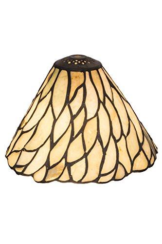 Meyda Tiffany 65617 Shade, Bronze/Dark