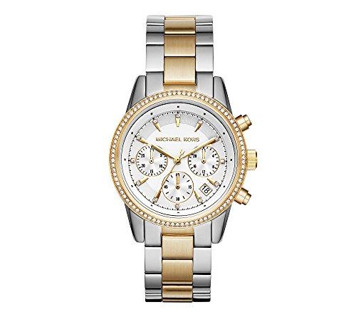 Michael Kors Ritz Two-Tone Chronograph Watch