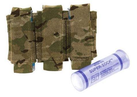 BLACKHAWK! 37CL23MC Triple Grenade Pouch, 40mm, Multicam