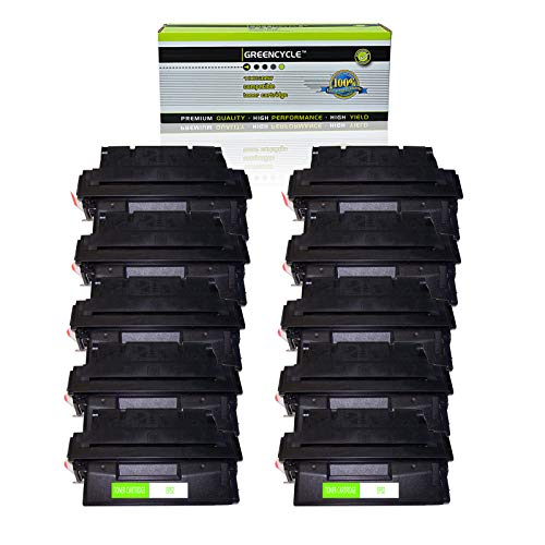 GREENCYCLE High Yield Compatible EP52 EP-52 C4127X 27X Toner Cartridge Replacement for Canon LBP-1760 LBP-1760e LBP-52x HP Laserjet 4000 4050 Printers,Page Yield Up to 10,000 Pages (Black, 10 Pack) -  GREENCYCLE TECH INC, M-EP52-10PK-0319