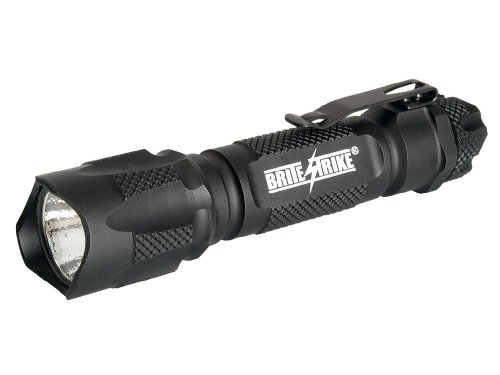 Brite Strike BD-198-HLS-2C Tactical Blue Dot Series 310-Lumen Hi Lo Strobe 2-Cell LED - Blue Strobe
