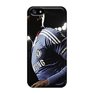 Tpu Case Cover For Iphone 5/5s Strong Protect Case - Football Player Stadium Design