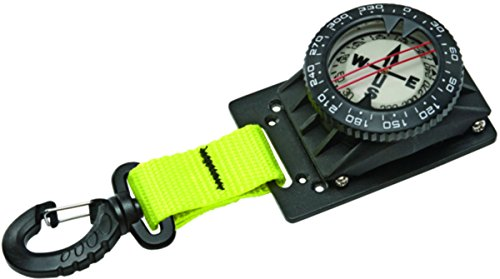 Innovative Mounted Compass With BCD Clip (Pink)