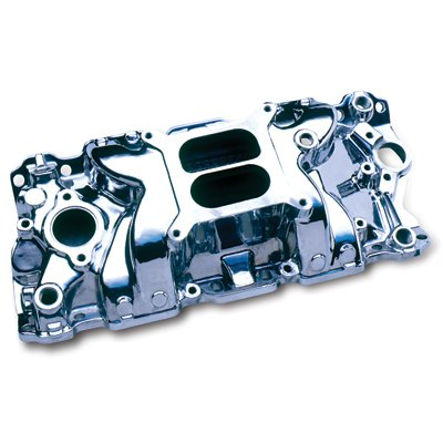 (Professional Products 52020 Polished Typhoon Intake Manifold for Small Block Chevy)