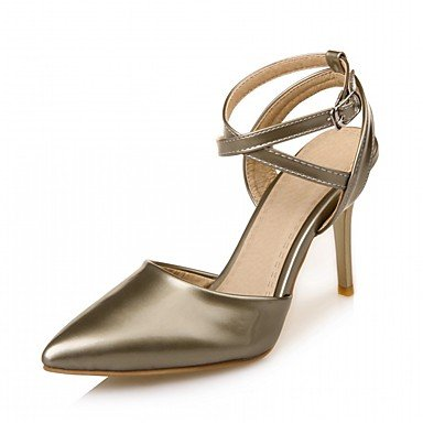 pwne Las Mujeres Sandalias De Verano Caen Club Zapatos Zapatos Formales Comfort Novedad Oficina Exterior De Piel Sintética Pu &Amp; Carrera Parte &Amp; Casual Vestido De Noche US9.5-10 / EU41 / UK7.5-8 / CN42