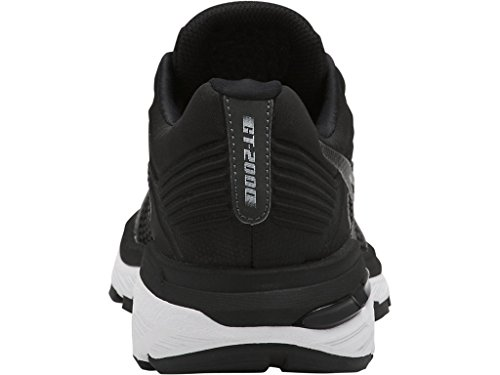 ASICS Women's GT-2000 6 Running Shoe, Black/White/Carbon, 5.5 M US by ASICS (Image #7)