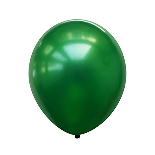 Neo LOONS 5 Pearl Green Premium Latex Balloons -- Great for Kids, Adult Birthdays, Weddings, Receptions, Baby Showers, Water Fights, or Any Celebration, Pack of 100