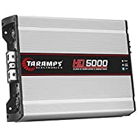 Taramps HD5000 1 Channel 5000 RMS 2 OHM Power Car Amplifier